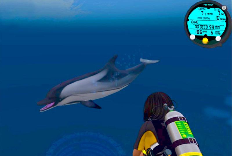 Virtual EANX Diver